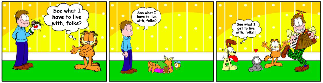 Think, that garfield comic strip generator